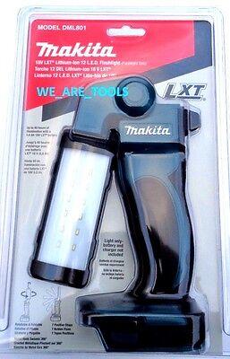 New In Retail Package Makita DML801 12 LED 18V Light Cordless Flashlight Torch