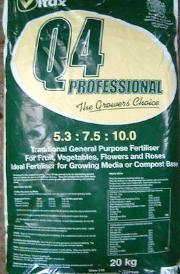 20kg VITAX Q4 (NPK) 5.3-7.5-10+TE