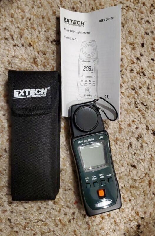 Extech LT40 LED Light Meter *NEW*