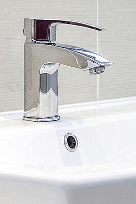 KNOPPO® Waschbecken Design Überlaufblende / Überlaufabdeckung - Ring (chrom)