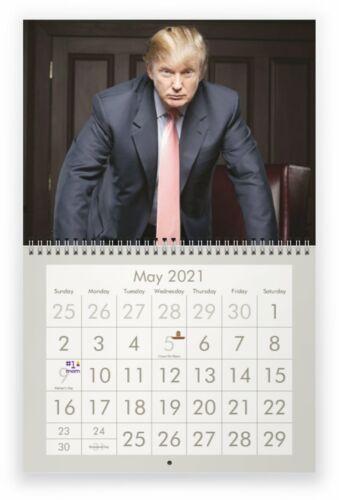 PRESIDENT TRUMP 2021 Wall Calendar