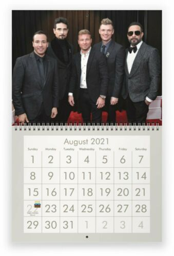 BACKSTREET BOYS 2021 Wall Calendar