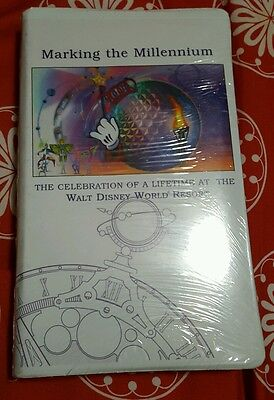 Disney, Marking the Millennium. RARE. VHS Tape. EPCOT ONLY. BRAND NEW/SEALED