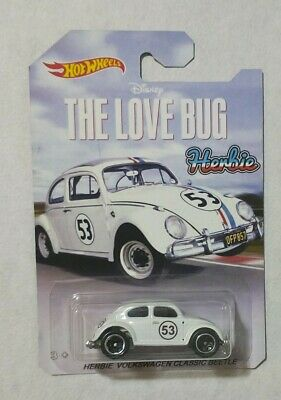 Custom hot wheels Herbie the love bug VW  1:64
