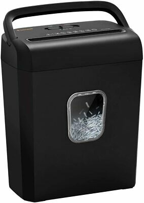 Bonsaii 6-sheet Micro Cut Paper Shredder410mm P-4 High-security For Home