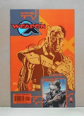 WEAPON X: THE DRAFT - KANE/AGENT JACKSON 10/02 Marvel 9.0 VF/NM Uncertified