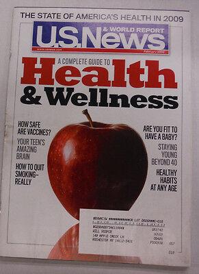 U S  News Magazine Health   Wellness February 2009 052615R2