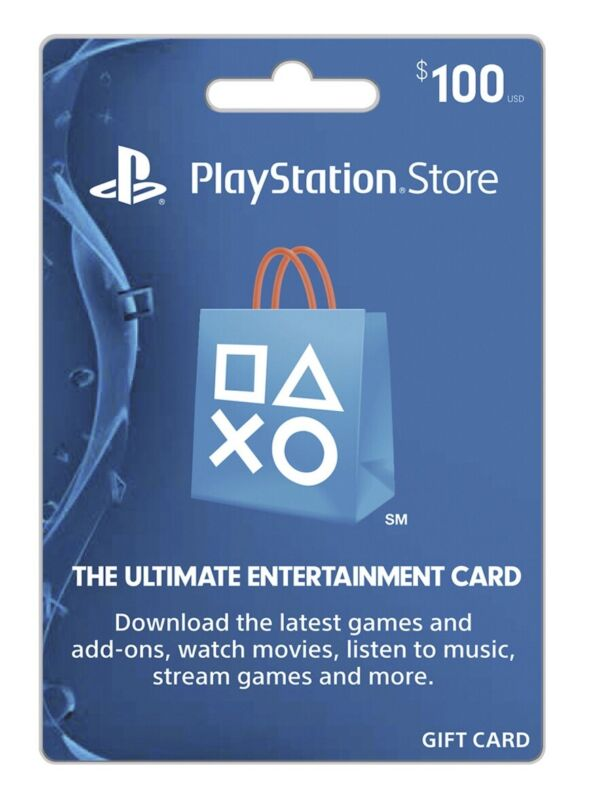 PlayStation Store Gift Card $100 - (Shipped)