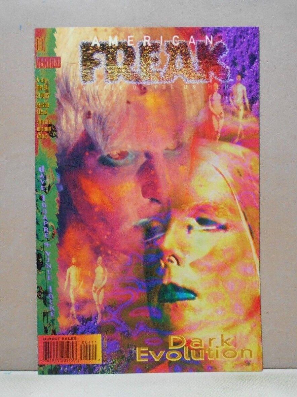 �yf�y�$9nm9�-z)�h�z`d���9��_american freak-a tale of the un-men #4 of 5 vertigo 9.