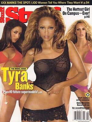 Stuff Magazine May 2003 Tyra Banks 020917Dbe