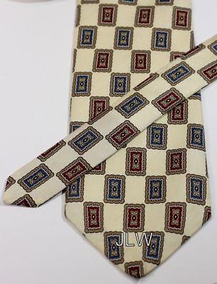 Henry New York Tie - Henri Christian 100% Silk Men's Neck Tie - NEW Without Tags - New York & Paris