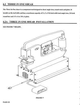 Scotchman Portafab 45 Ironworker Operators Parts Manual