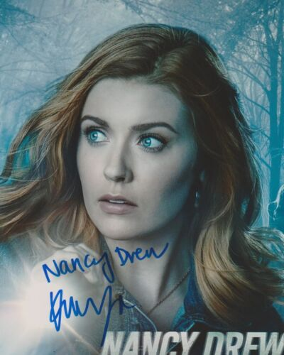 Kennedy McMann Nancy Drew Autographed Signed 8x10 Photo COA 2019-24