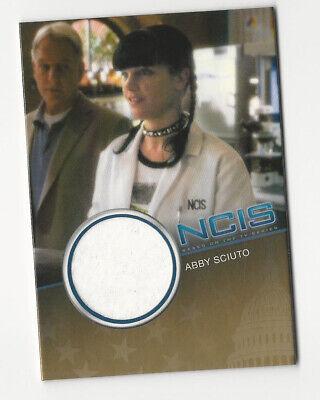 Pauley Perrette as Abby Sciuto NCIS Costume Relic Card #CC22 /500