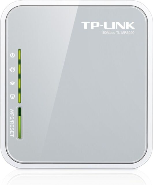 NEW TP-LINK TL-MR3020 Portable 3G/4G USB Modem Share Internet Wireless-N Router