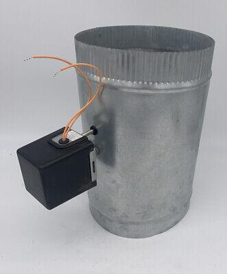 Io Hvac Controls 8 Motorized Zone Control 24v Powered Open Damper Round