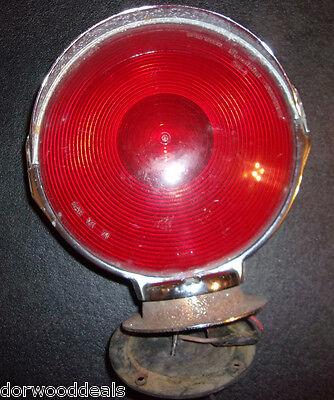"Signal-Stat 364 Red Emergency Light 7.5"" Diameter    -   T132"