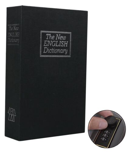 Dictionary Safes Hidden Book Safe Lock Secret Security Money