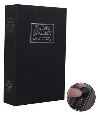 Secret Safe - Large- Home Dictionary Book Secret Safe Storage Password Lock Box Cash Jewelry