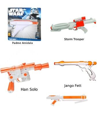 Star Wars Blaster (Choose Your Character) Prop Costume Accessory Gun Solo
