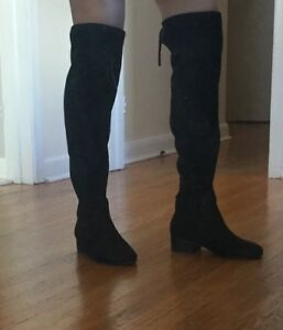 Black knee high boots!