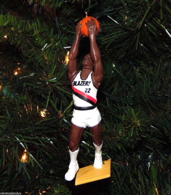 clyde DREXLER portland TRAIL BLAZERS basketball NBA xmas jersey ornament HOLIDAY