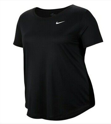 Nike Dry Legend  Plus Size  Womens Shirt Top 3x 3xl xxxl  Black