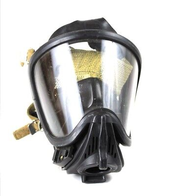 Msa Scba Ultra Elite Large Full Face Mask Respirator Firehawk With Rear Mesh