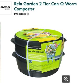Can O Worms Composter New 68 From Bunnings