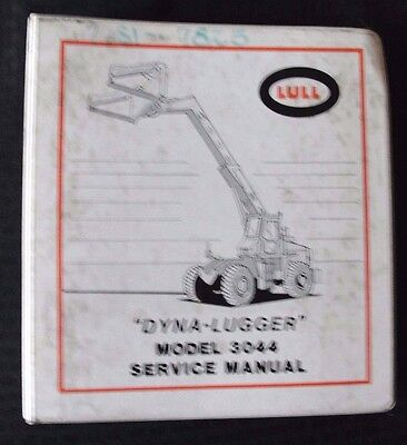 Lull Model 3044 Dyna-lugger Extending Boom Lift Truck Service Repair Manual