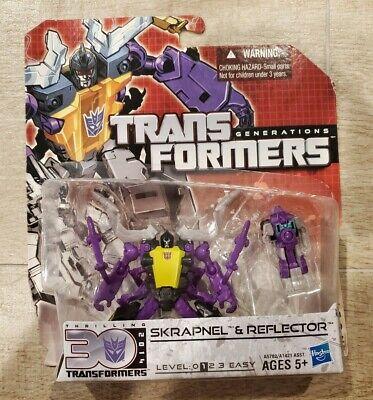 Transformers Generations Insecticon Skrapnel & Reflector Thrilling 30 US