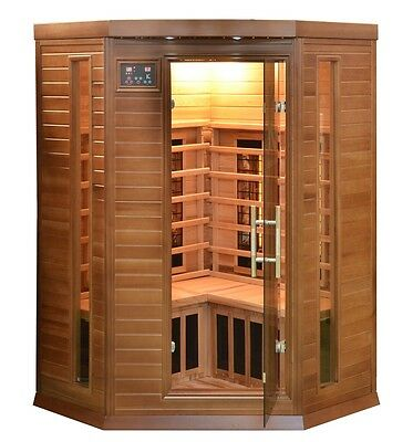 Infrarotkabine Wärmekabine Sauna Zedernholz Wellness Gesundheit