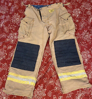 Morning Pride Firefighter Turnout Pants Bunker Gear W Liner 38 X 32 2003