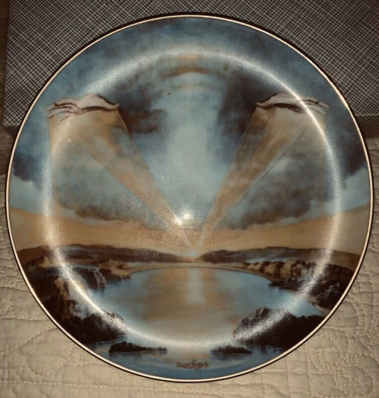 IN THE BEGINNING by Yiannis Koutsis Plate #I (1977) THE CREATION Collector Plate