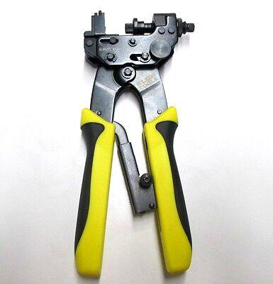 Klein Tools VDV211-007 Vertical Multi-Connector Compression Crimper