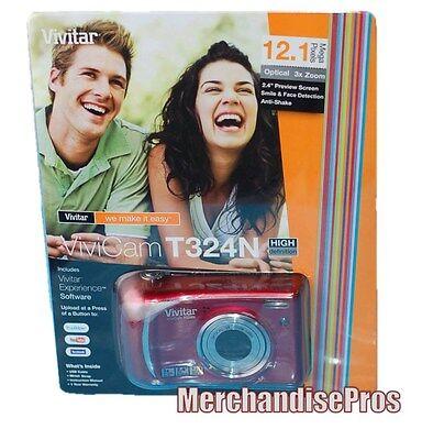 VIVITAR 12.1 MEGA PIXELS VIVI CAM DIGITAL CAMERA W/BONUS 4GB SD MEMORY CARD NEW! Vivitar Digital Cam