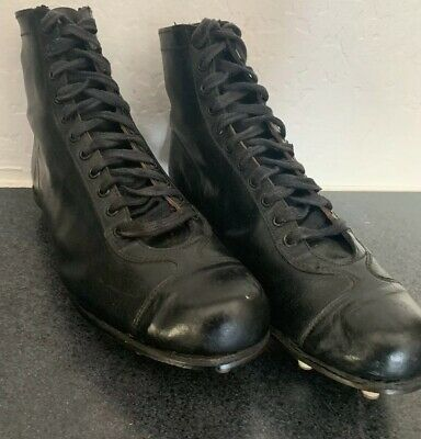 Vintage Leather Football Cleats