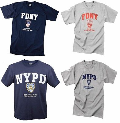 Nypd Physical Training T-shirt - Officially Licensed NYPD FDNY Physical Training Short Sleeve T-Shirt