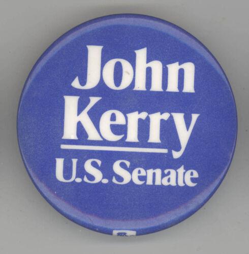 1990 JOHN KERRY US Senate MASSACHUSETTS Political PIN Button PINBACK Boston MASS
