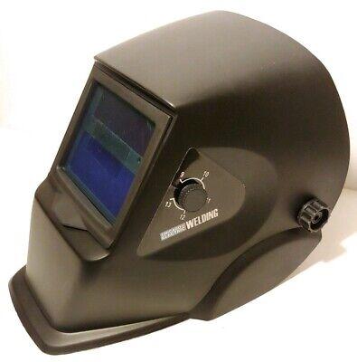 Chicago Electric Welding Helmet Adjustable Auto-darkening Black - 46092