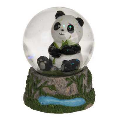 Schüttelkugel Panda Schneekugel Glitzerkugel Traumkugel Glaskugel  Schneekugel
