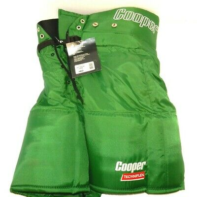 """NOS COOPER MBPS HOCKEY PANT SHELL GREEN CANADIAN MADE ~ SIZE MENS 30/"""" SMALL"""