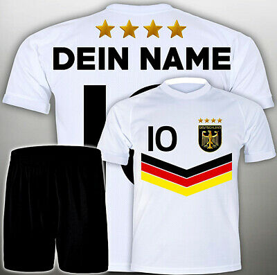 Ostergeschenk Jungs Jungen Set / WM Fußball Trikot + GRATIS Wunsch Name #<-Freif