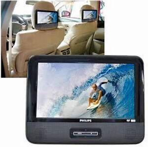 PHILIPS DOUBLE PORTABLE DVD PLAYER x2! Brigadoon Swan Area Preview