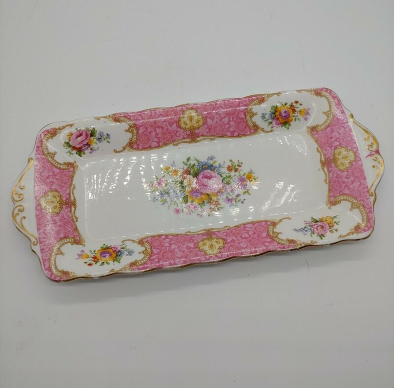 Royal Albert Lady Carlyle Small Sandwich Tray