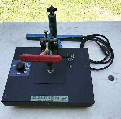 Hix Hobby Lite Hl-912 Swinger Heat Press Custom T-shirt Transfer Press Iron On