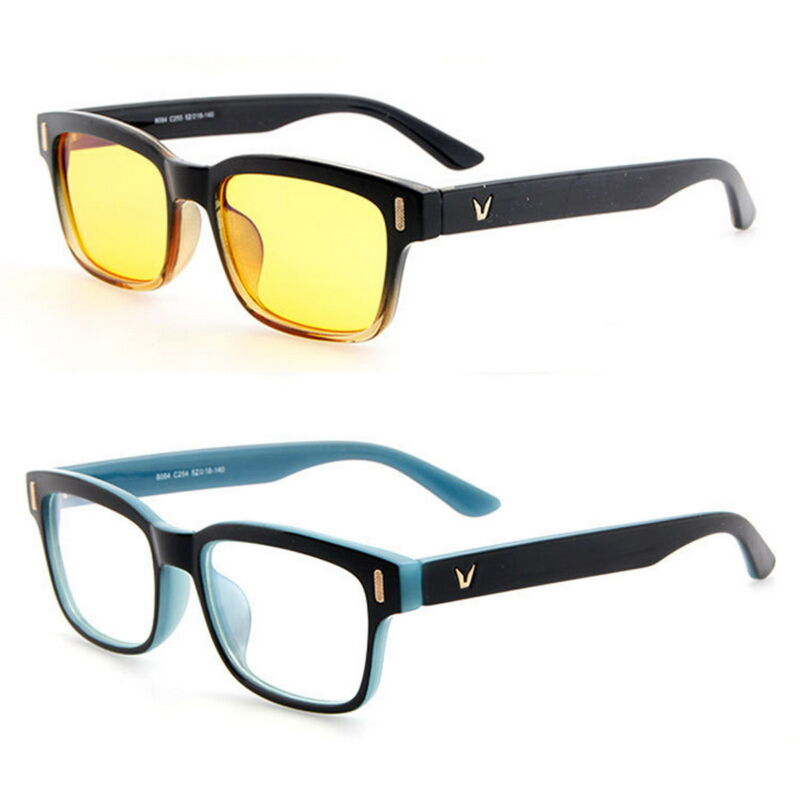 Gaming Glasses Computer Anti Fatigue Blue Light Blocking UV Protection Filter