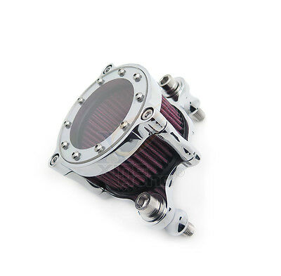 Air Cleaner Intake Filter For Harley Sportster XL883 XL1200 88-15 See Through