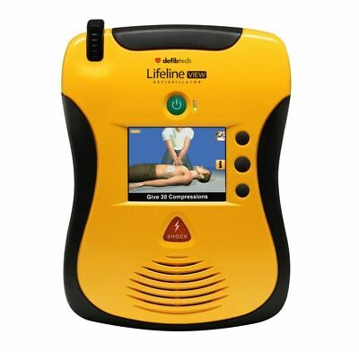 New Defibtech Lifeline View Semi-automatic Equipment Ddu-2300
