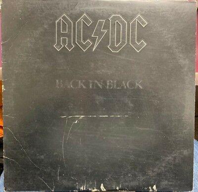AC/DC BACK IN BLACK LP 1980 ATLANTIC SD 16018 segunda mano  Embacar hacia Argentina